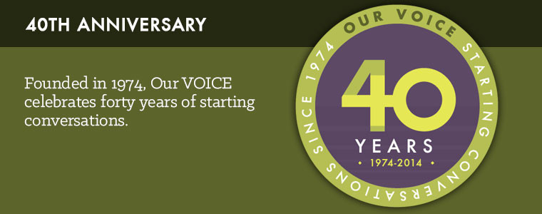 Our Voice celebrates forty years of starting conversations - Keynote Speaker Anita Hill