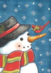 9279_Cardinal_snowman_house_flag