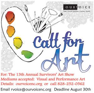 Call for Art 2013