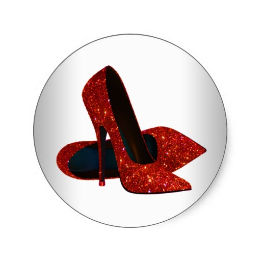 Red Sparkly Heels - Logo Contest Image